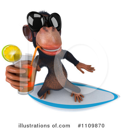 Chimpanzee Clipart #1109870 by Julos