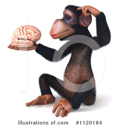 Brain Clipart #1120184 by Julos