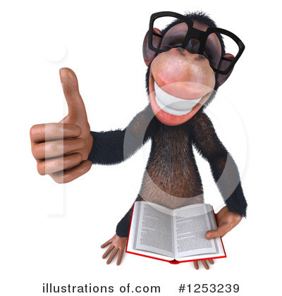 Book Clipart #1253239 by Julos