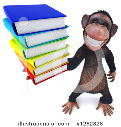 Chimpanzee Clipart #1282328 by Julos