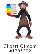 Chimpanzee Clipart #1305302 by Julos