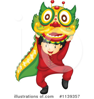 Chinese Dragon Clipart #1139357 by Graphics RF