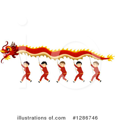 Chinese Dragon Clipart #1286746 by BNP Design Studio