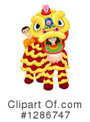 Chinese Dragon Clipart #1286747 by BNP Design Studio