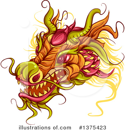 Chinese New Year Clipart #1375423 by BNP Design Studio