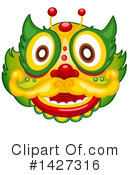 Chinese Dragon Clipart #1427316 by Graphics RF