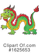 Chinese Dragon Clipart #1625653 by visekart