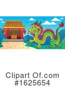 Chinese Dragon Clipart #1625654 by visekart