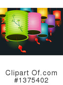 Chinese Lantern Clipart #1375402 by BNP Design Studio