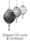 Chinese Lantern Clipart #1375404 by BNP Design Studio