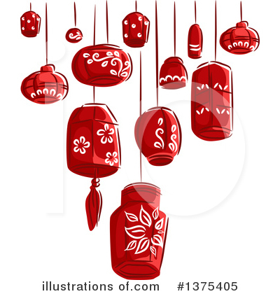 Chinese New Year Clipart #1375405 by BNP Design Studio