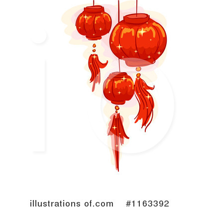 Chinese Lantern Clipart #1163392 by BNP Design Studio