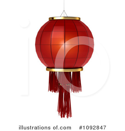 Chinese New Year Clipart #1092847 by BNP Design Studio