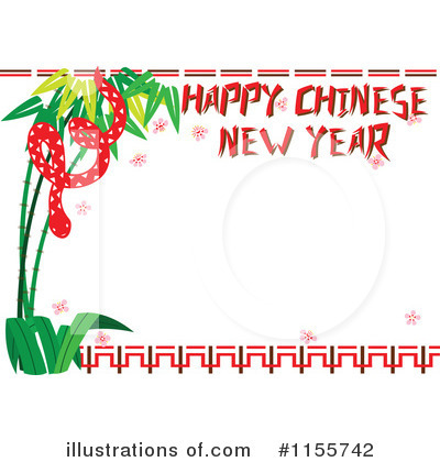 Chinese New Year Clipart #1155742 by Cherie Reve