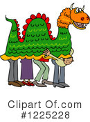 Royalty-Free (RF) Chinese New Year Clipart Illustration #1225228