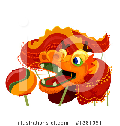 Dragon Clipart #1381051 by BNP Design Studio