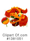 Chinese New Year Clipart #1381051 by BNP Design Studio