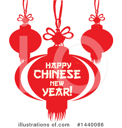 Chinese Lantern Clipart #1440086 by Vector Tradition SM