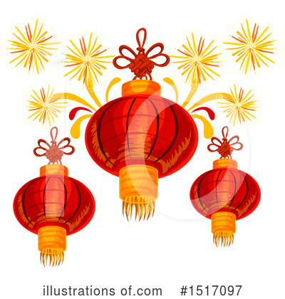 Chinese Lantern Clipart #1517097 by Vector Tradition SM