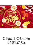 Chinese New Year Clipart #1612162 by Vector Tradition SM