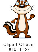 Chipmunk Clipart #1211157 by Cory Thoman