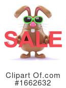 Chocolate Bunny Clipart #1662632 by Steve Young