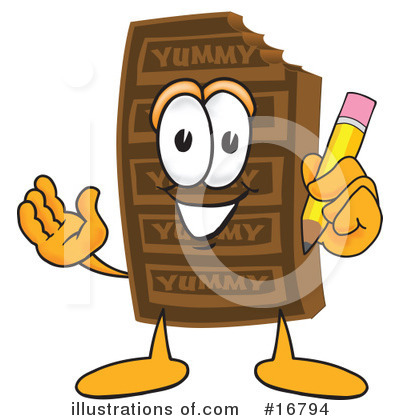 Chocolate Character Clipart #16794 by Toons4Biz