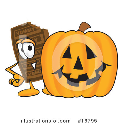 Chocolate Character Clipart #16795 by Toons4Biz