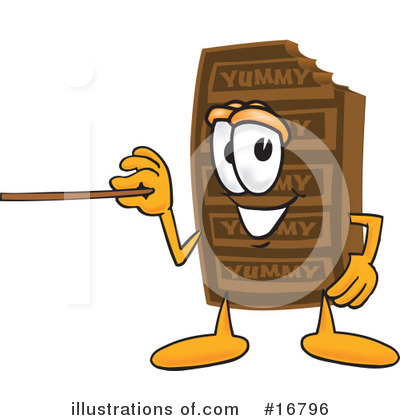 Chocolate Character Clipart #16796 by Toons4Biz