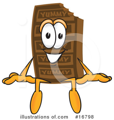 Chocolate Character Clipart #16798 by Toons4Biz