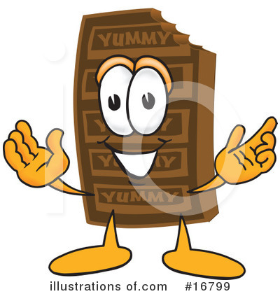 Royalty-Free (RF) Chocolate Character Clipart Illustration by Toons4Biz - Stock Sample #16799