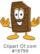 Chocolate Character Clipart #16799 by Toons4Biz