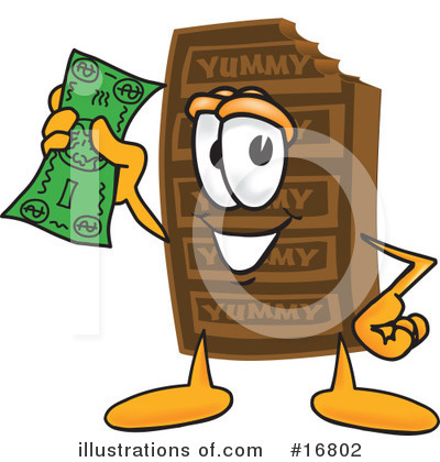 Chocolate Character Clipart #16802 by Toons4Biz