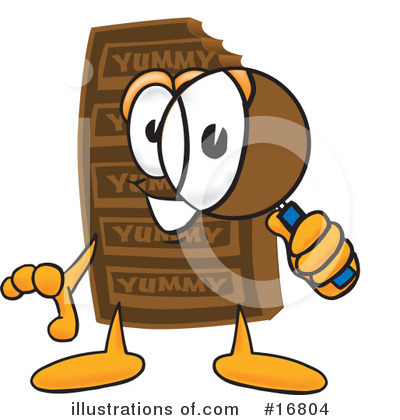 Chocolate Character Clipart #16804 by Toons4Biz