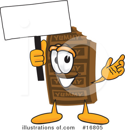 Royalty-Free (RF) Chocolate Character Clipart Illustration by Toons4Biz - Stock Sample #16805