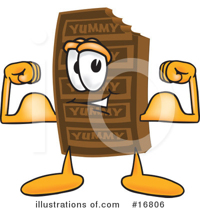 Chocolate Character Clipart #16806 by Toons4Biz