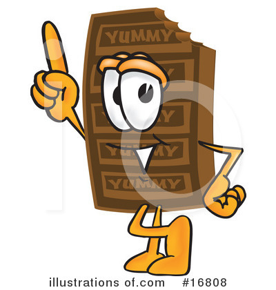 Chocolate Character Clipart #16808 by Toons4Biz