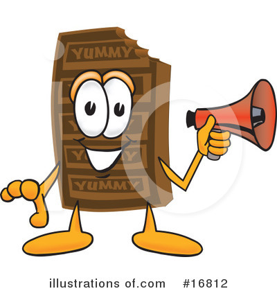 Chocolate Character Clipart #16812 by Toons4Biz