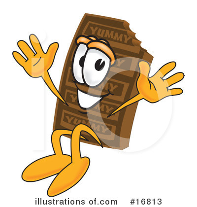 Chocolate Character Clipart #16813 by Toons4Biz