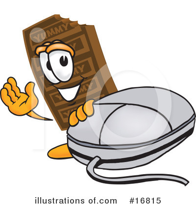Chocolate Character Clipart #16815 by Toons4Biz