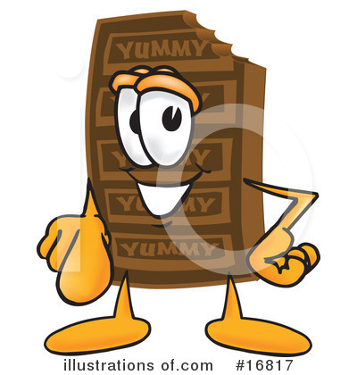 Chocolate Character Clipart #16817 by Toons4Biz