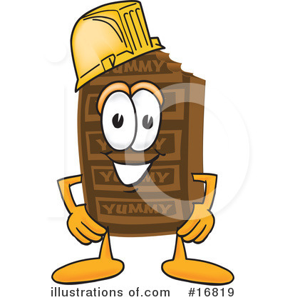 Chocolate Character Clipart #16819 by Toons4Biz