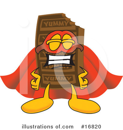 Chocolate Character Clipart #16820 by Toons4Biz
