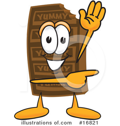 Chocolate Character Clipart #16821 by Toons4Biz