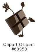 Chocolate Character Clipart #69953 by Julos