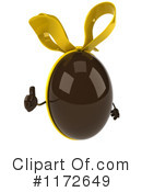 Chocolate Easter Egg Clipart #1172649 by Julos