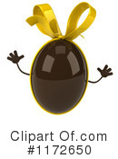 Chocolate Easter Egg Clipart #1172650 by Julos