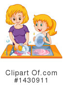 Royalty-Free (RF) Chores Clipart Illustration #1430911