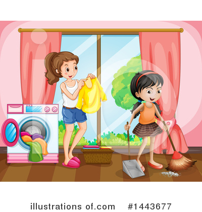 Laundry Clipart #1443677 by Graphics RF