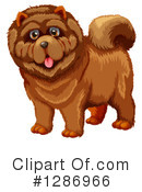 Chow Chow Clipart #1286966 by Graphics RF